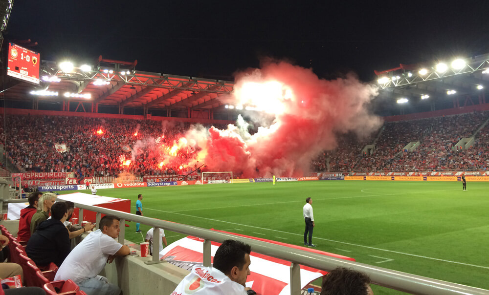 Olympiacos fans