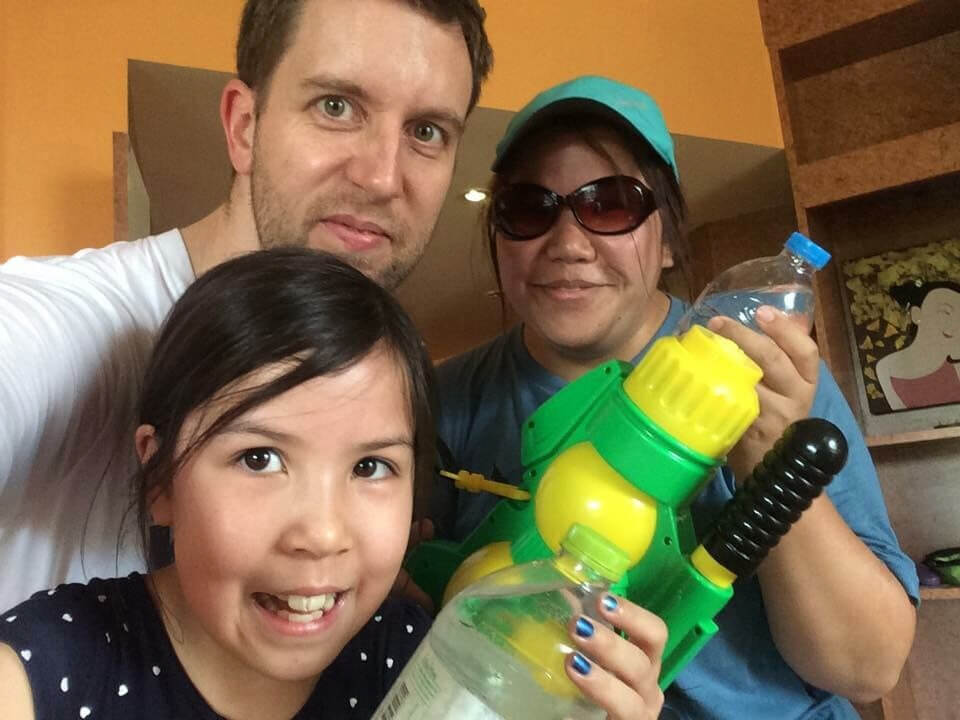 Getting ready for Songkran