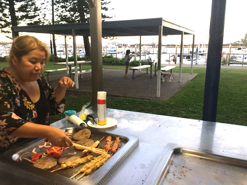 Free to use BBQs in Gladstone
