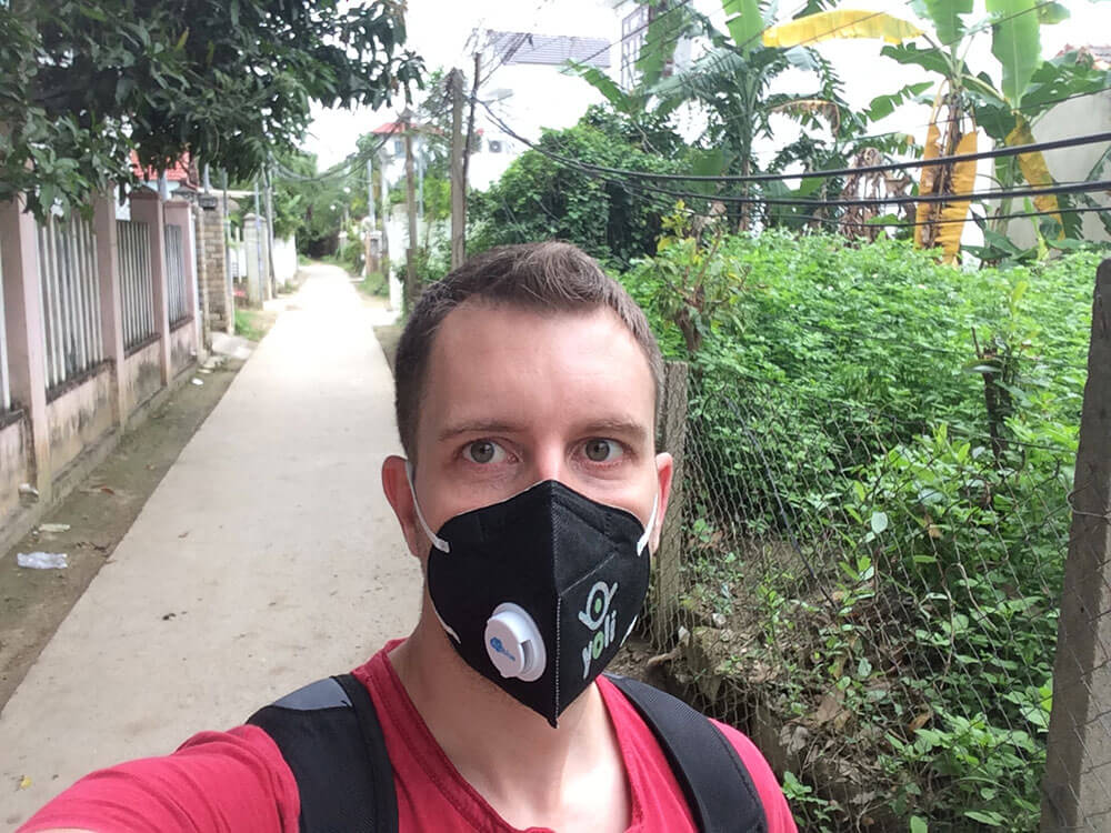 Have to filter out the pollution in Hoi An